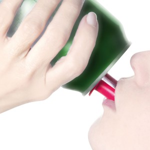 drinking spout for beverage cans