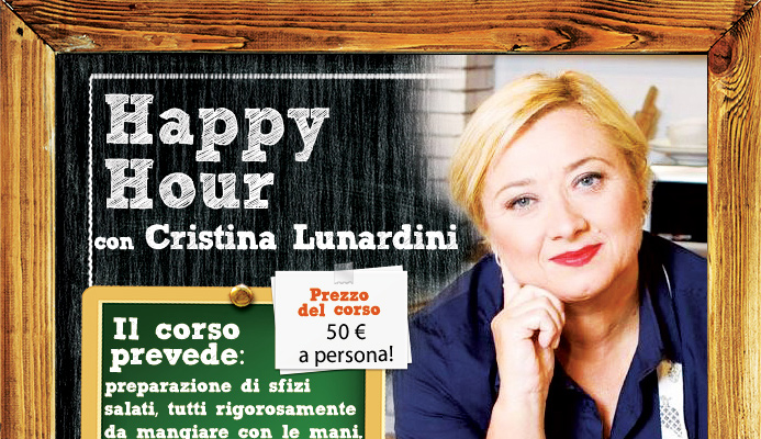 Cristina Lunardini di Alice Tv: corso Happy Hour